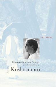 Book Cover: Commentaries On Living, First Series