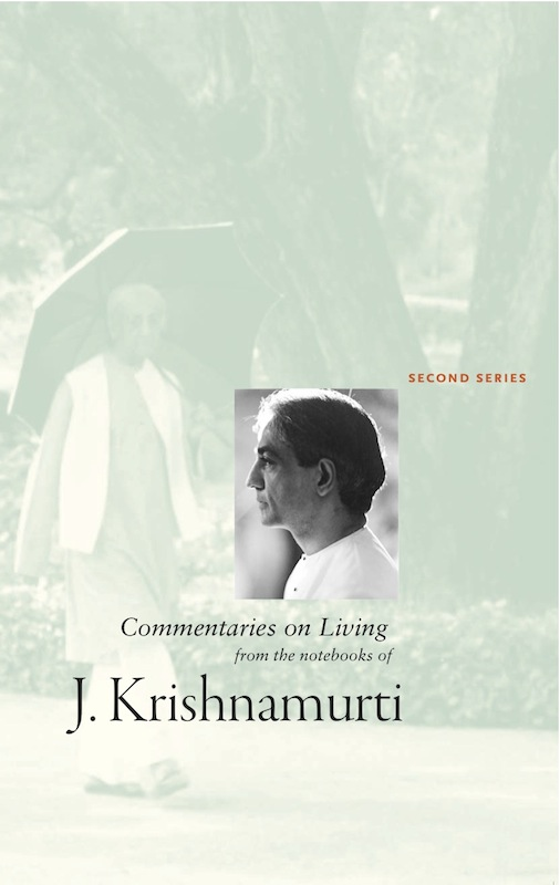 Book Cover: Commentaries on Living, Second Series