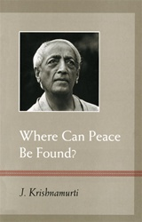 Book Cover: Where Can Peace Be Found?