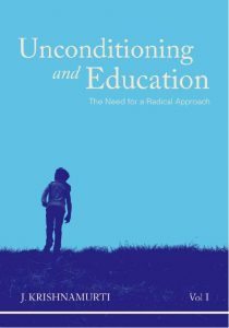 Book Cover: Unconditioning and Education