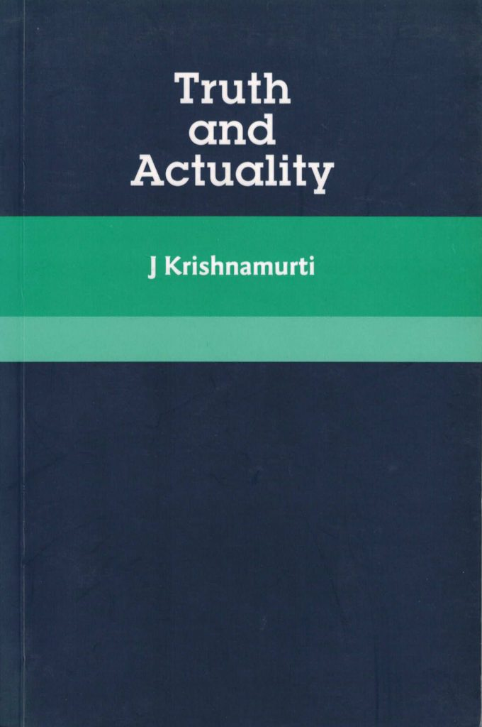 Book Cover: Truth and Actuality
