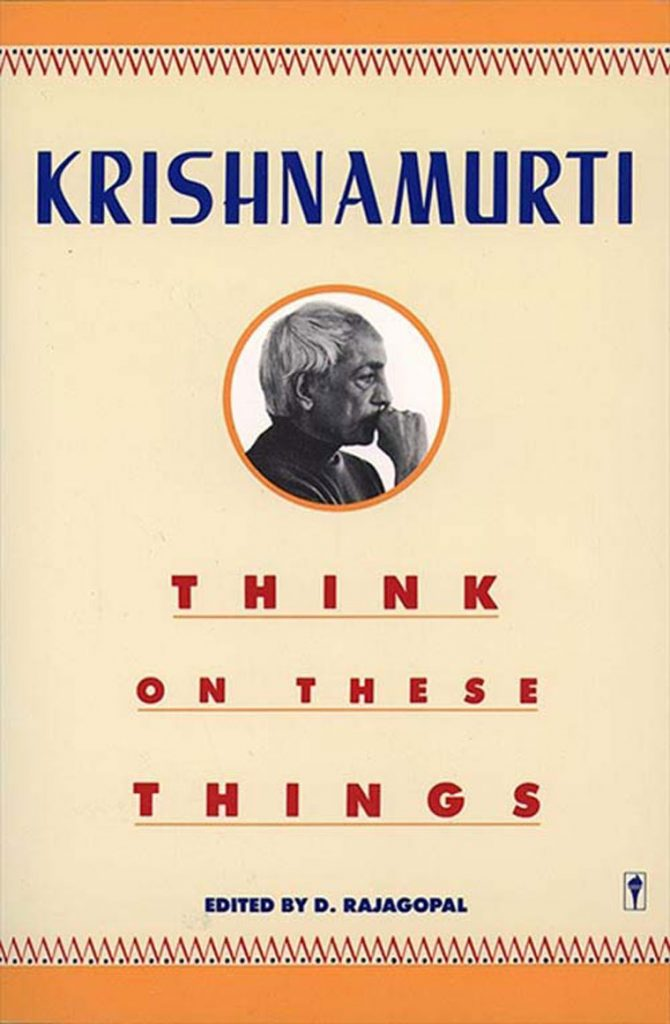 Book Cover: Think on These Things