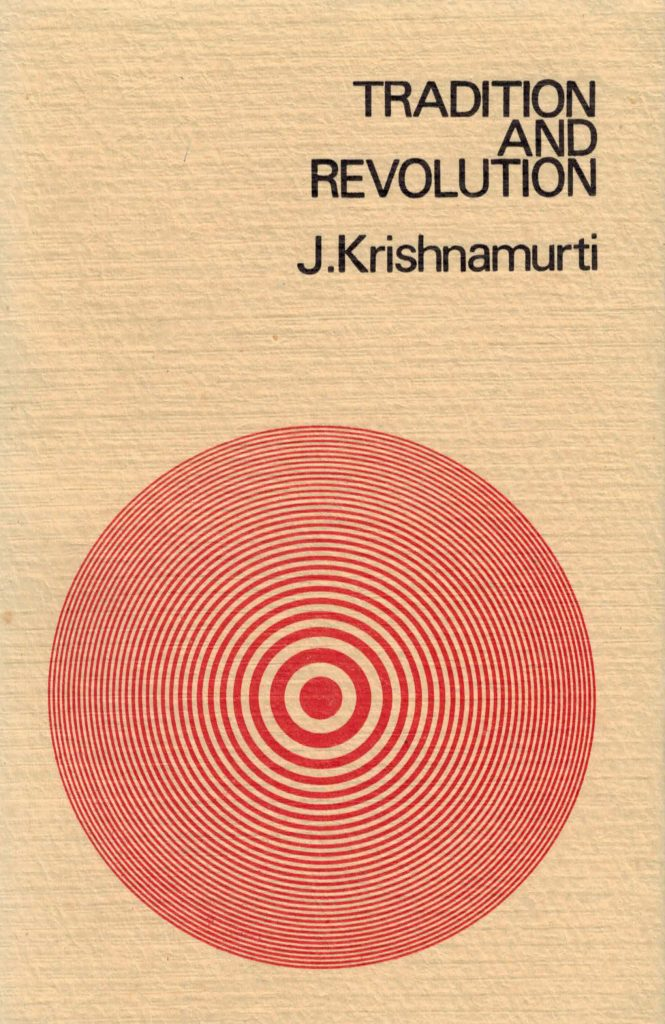 Book Cover: Tradition and Revolution