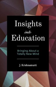 Book Cover: Insights into Education