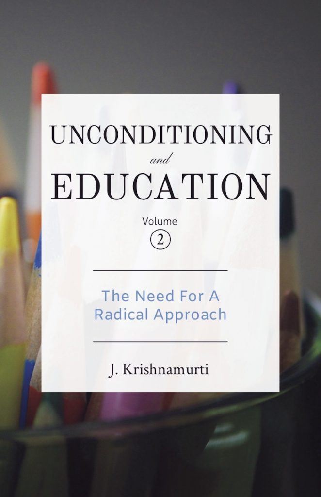 Book Cover: Unconditioning & Education Vol. 2