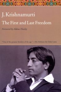 Book Cover: First and Last Freedom, The