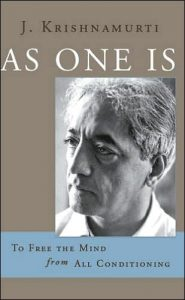 Book Cover: As One Is