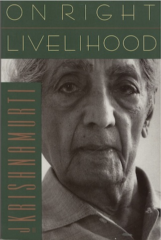 Book Cover: On Right Livelihood